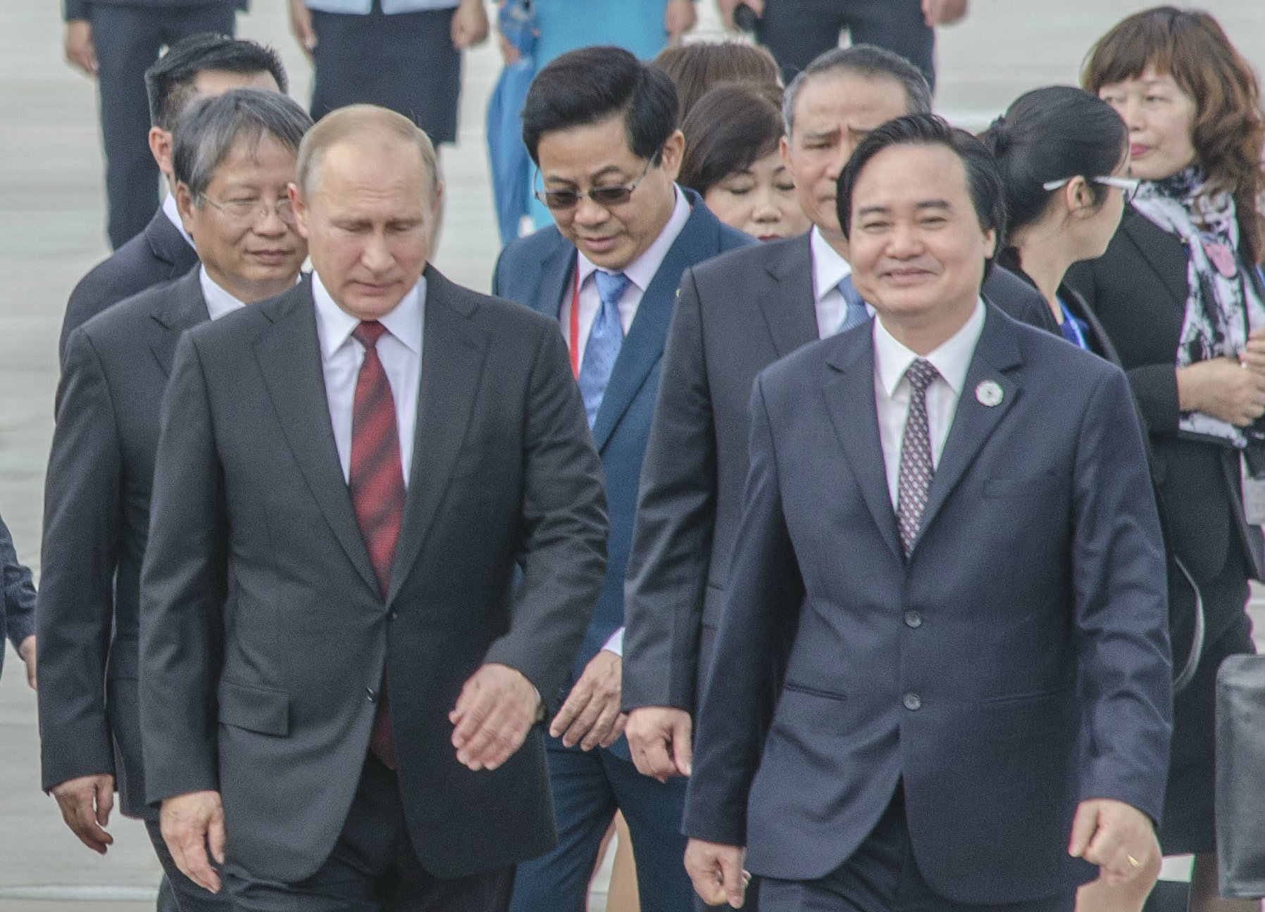 Nhiều nguyên thủ đã đến Đã Nẵng dự Tuần lễ Cấp cao APEC