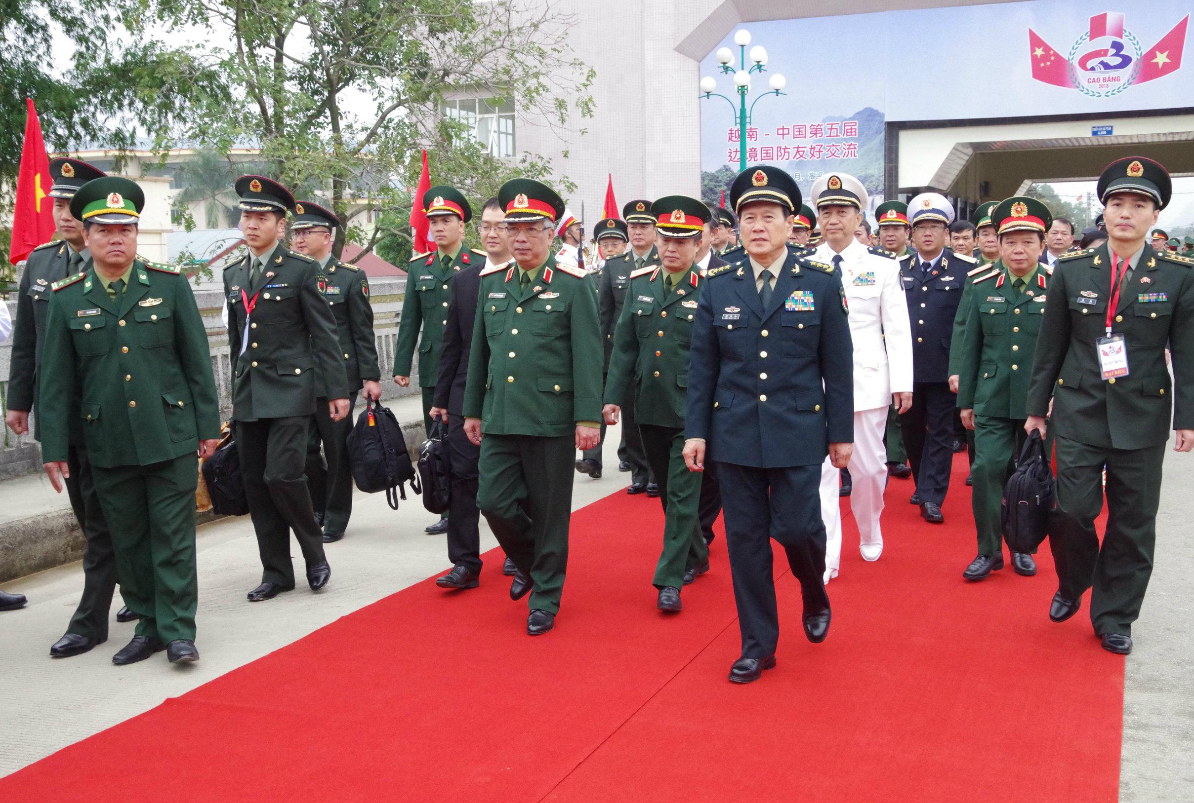 Kết thúc tốt đẹp chương trình quotGiao lưu hữu nghị Quốc phòng biên giới Việt Nam - Trung Quốcquot lần thứ 5