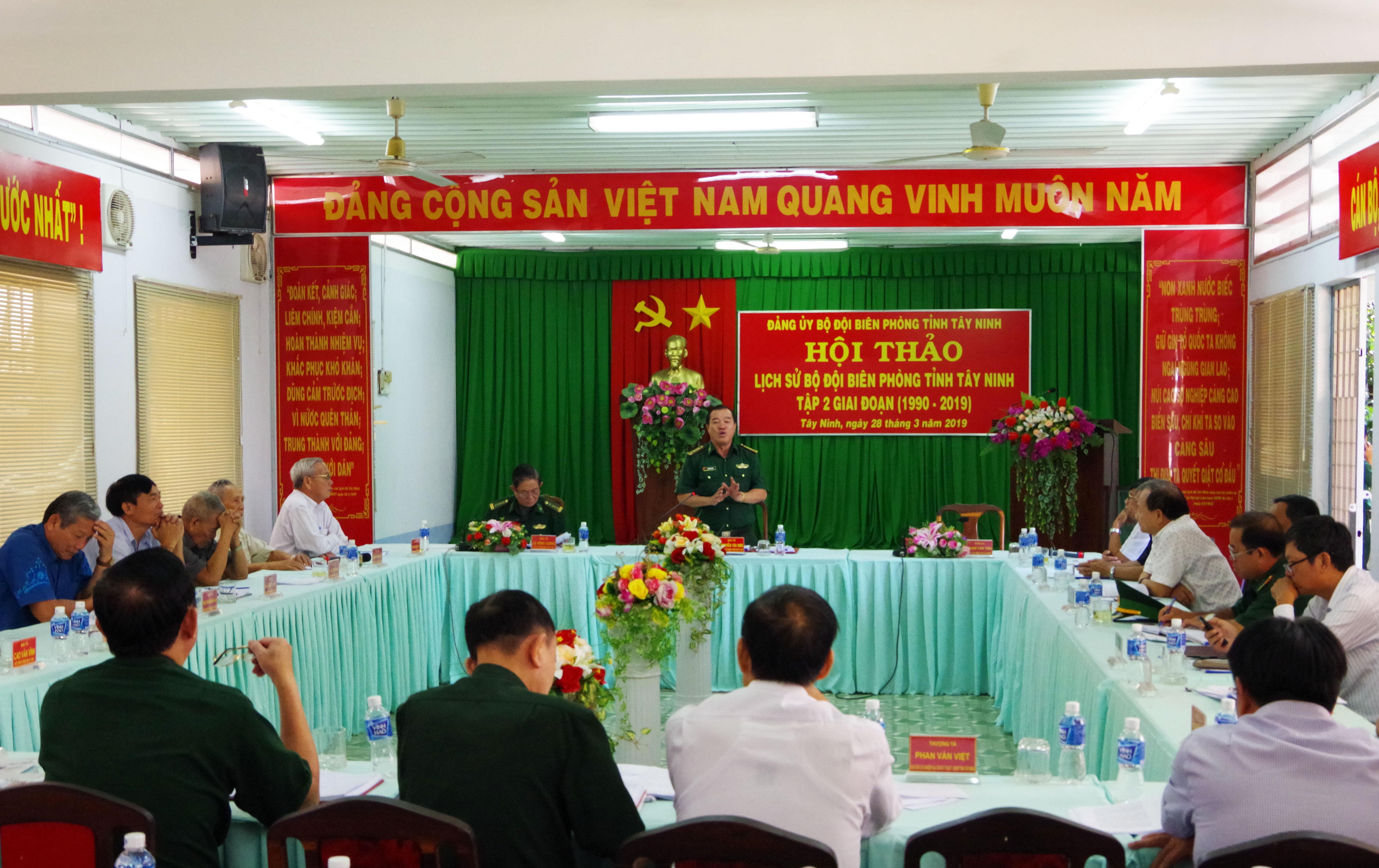 Hội thảo lịch sử BĐBP tỉnh Tây Ninh tập 2, giai đoạn 1990-2019