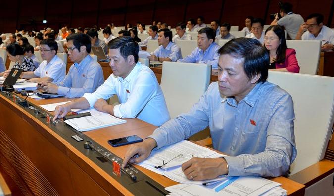 Quốc hội thông qua quyết toán ngân sách Nhà nước năm 2016