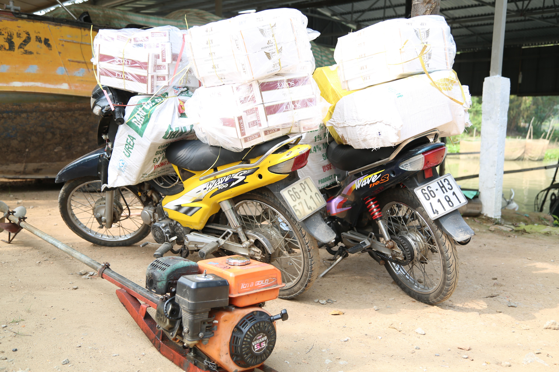 BĐBP Đồng Tháp bắt 2 vụ buôn lậu, thu 3.000 gói thuốc lá ngoại