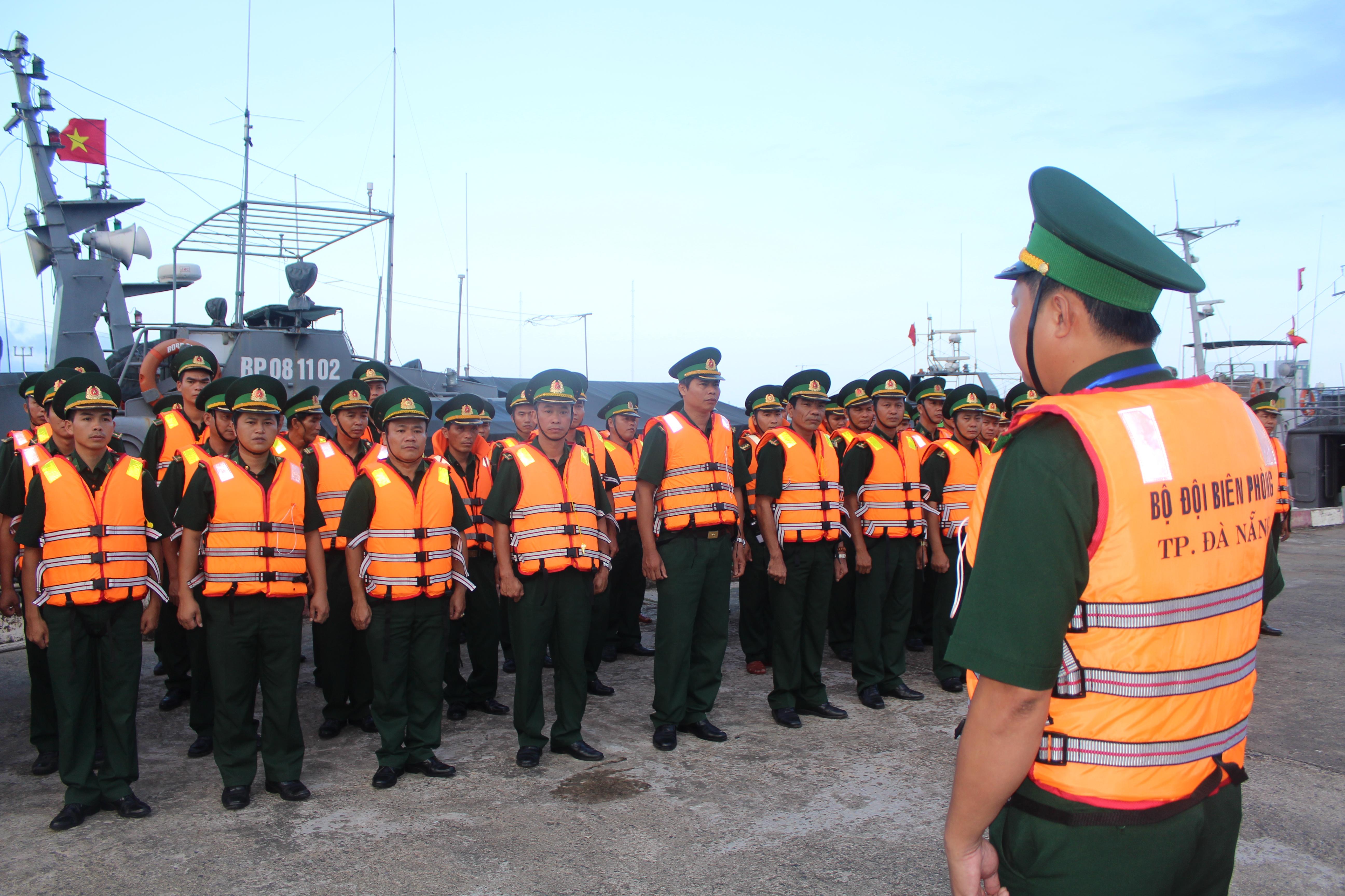 BĐBP Đà Nẵng hoàn thành tốt nhiệm vụ bảo vệ Tuần lễ Cấp cao APEC 2017