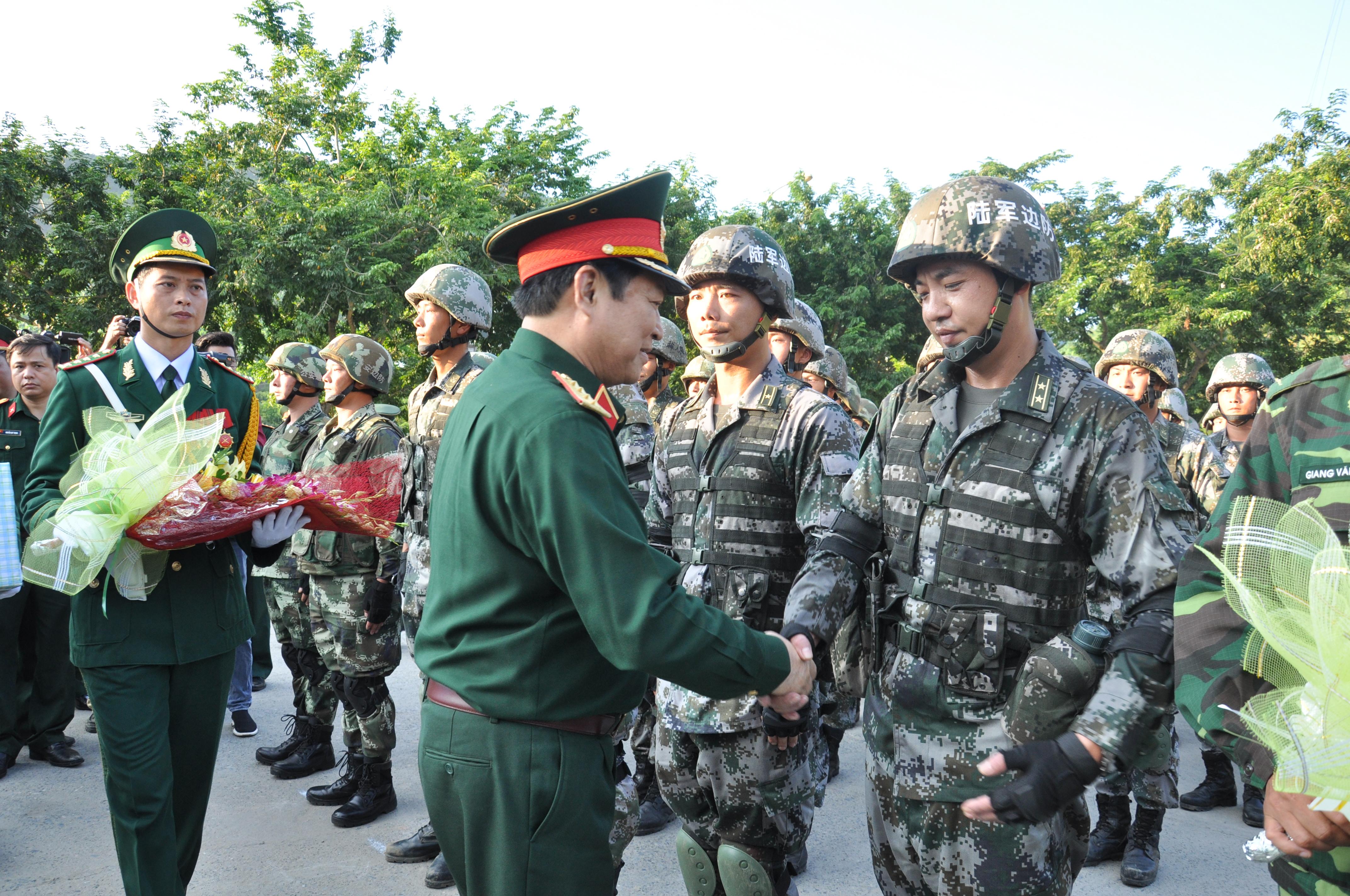 Diễn tập liên hợp chống tội phạm qua biên giới Việt - Trung
