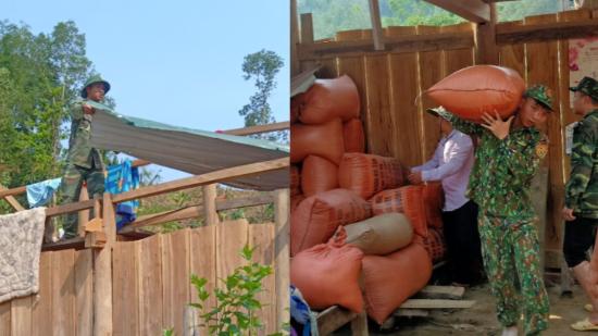 Tập trung khắc phục hậu quả mưa lốc tại Điện Biên