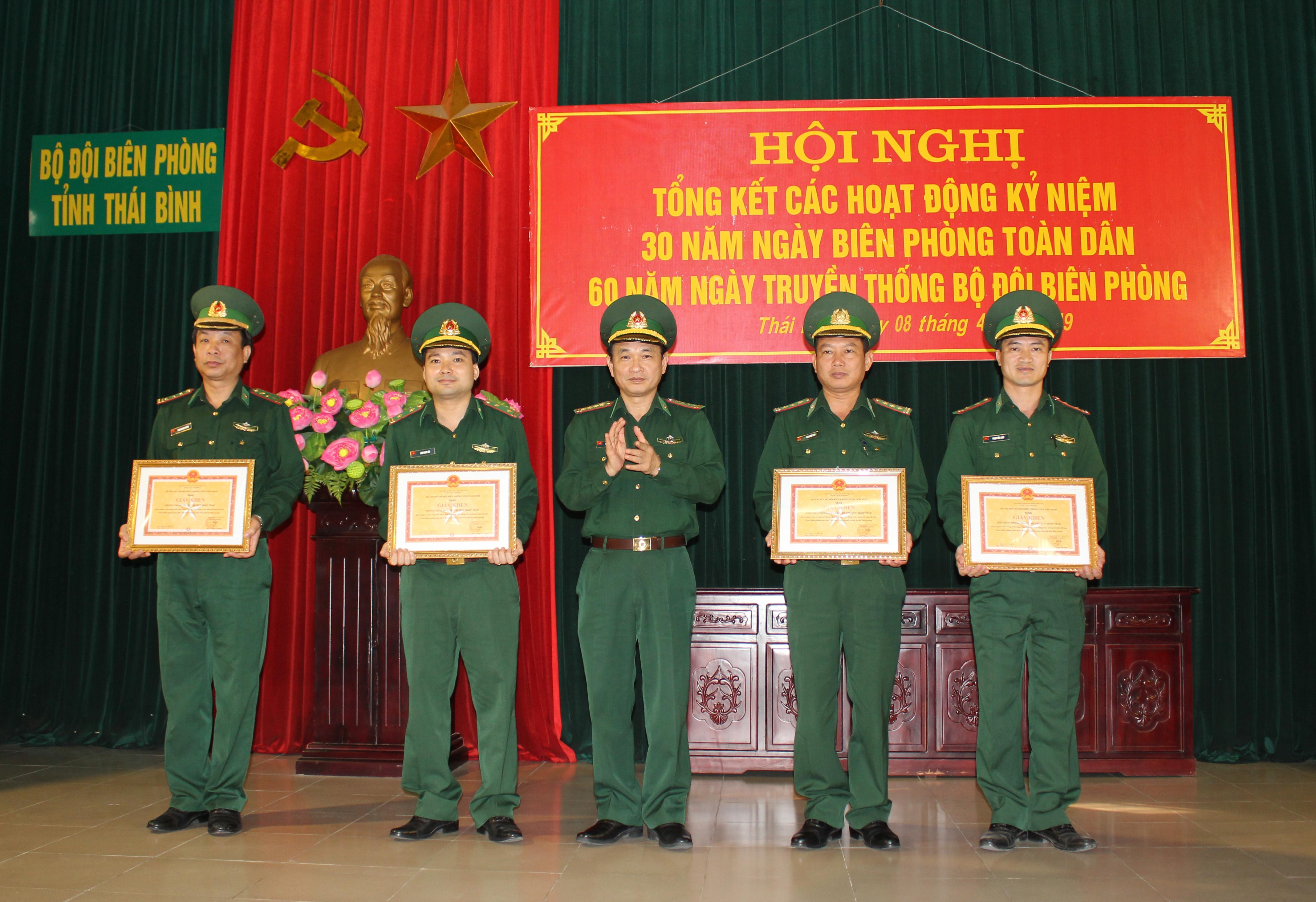 BĐBP Thái Bình tổng kết các hoạt động kỷ niệm 60 năm Ngày Truyền thống BĐBP