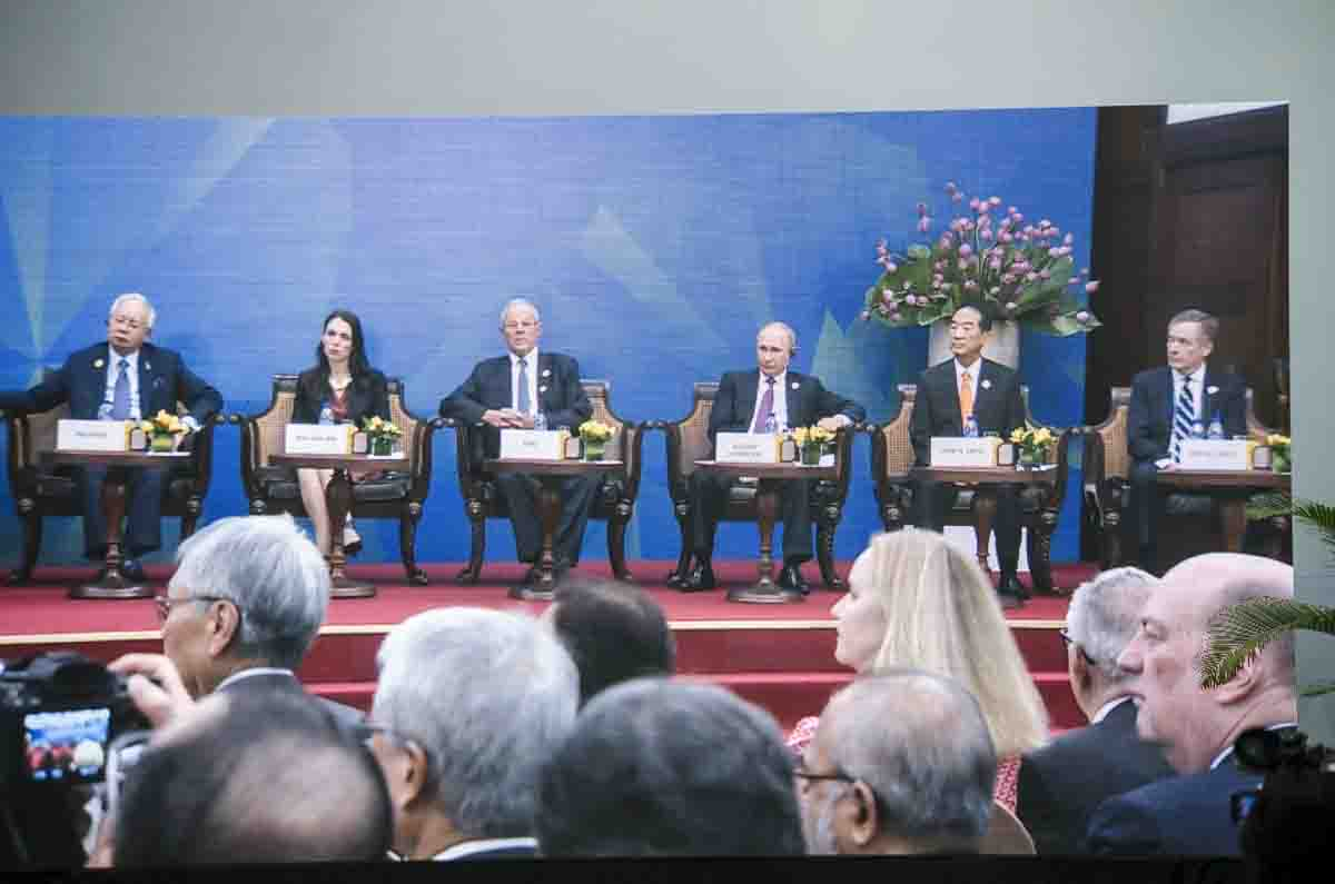 Lãnh đạo 21 nền kinh tế dự phiên Đối thoại với Hội đồng tư vấn kinh doanh APEC