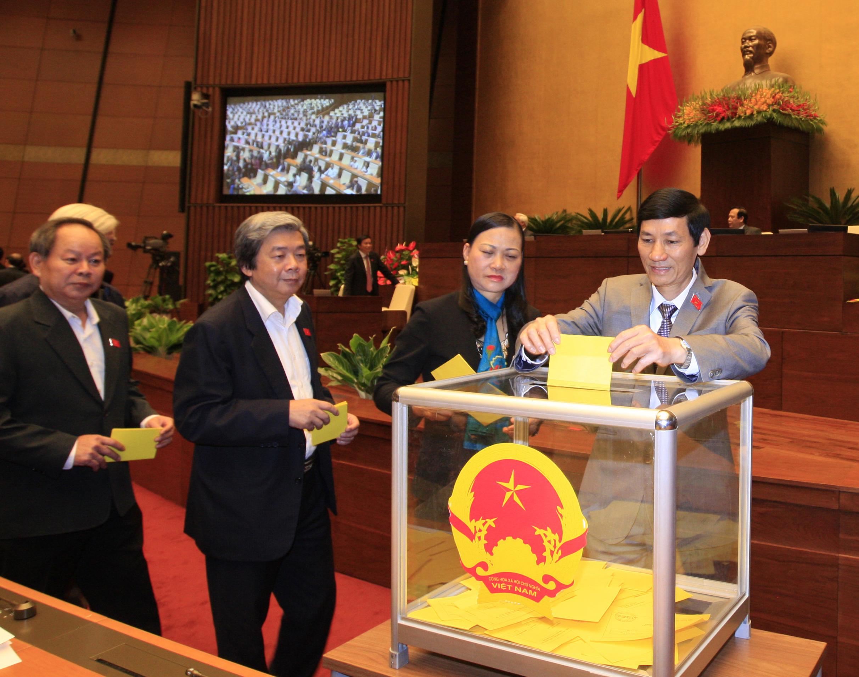 Quốc hội kiện toàn Hội đồng Quốc phòng – An ninh và Ủy ban Bầu cử quốc gia