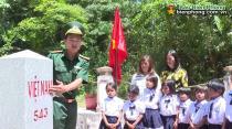 Lớp học chủ quyền trên biên giới Quảng Bình